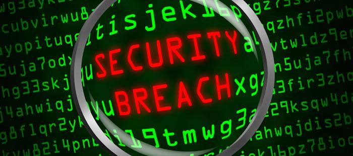 Employer Service Provider Security Breach