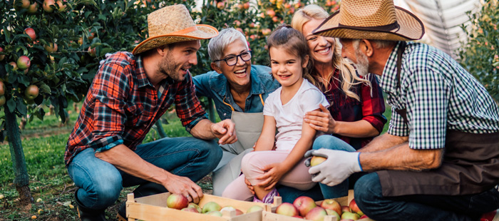 Orchard Farmers Family
