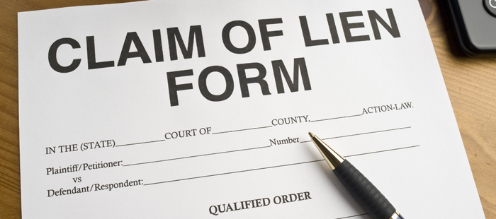 Realtor Property Lien